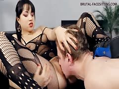 Teased her man and let him eats her pussy