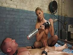 Nasty mistress intense domination