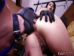 As worshiping and pegging